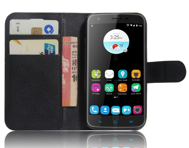 Telstra 4GX Plus Leather Case Black