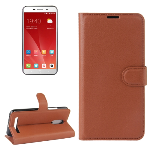 Telstra 4GX Premium Wallet Case Brown