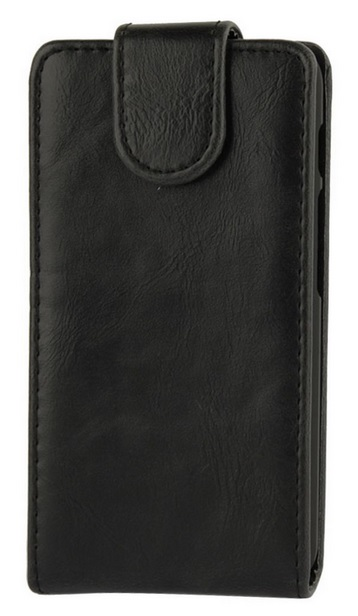Telstra Buzz PU Leather Case Black