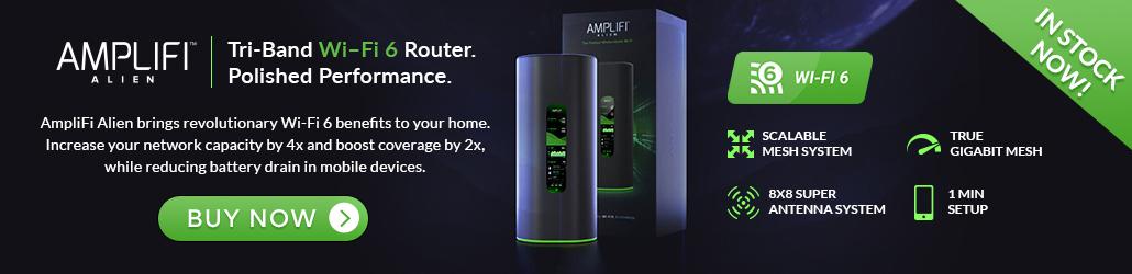 Amplifi Alien Mesh Banner